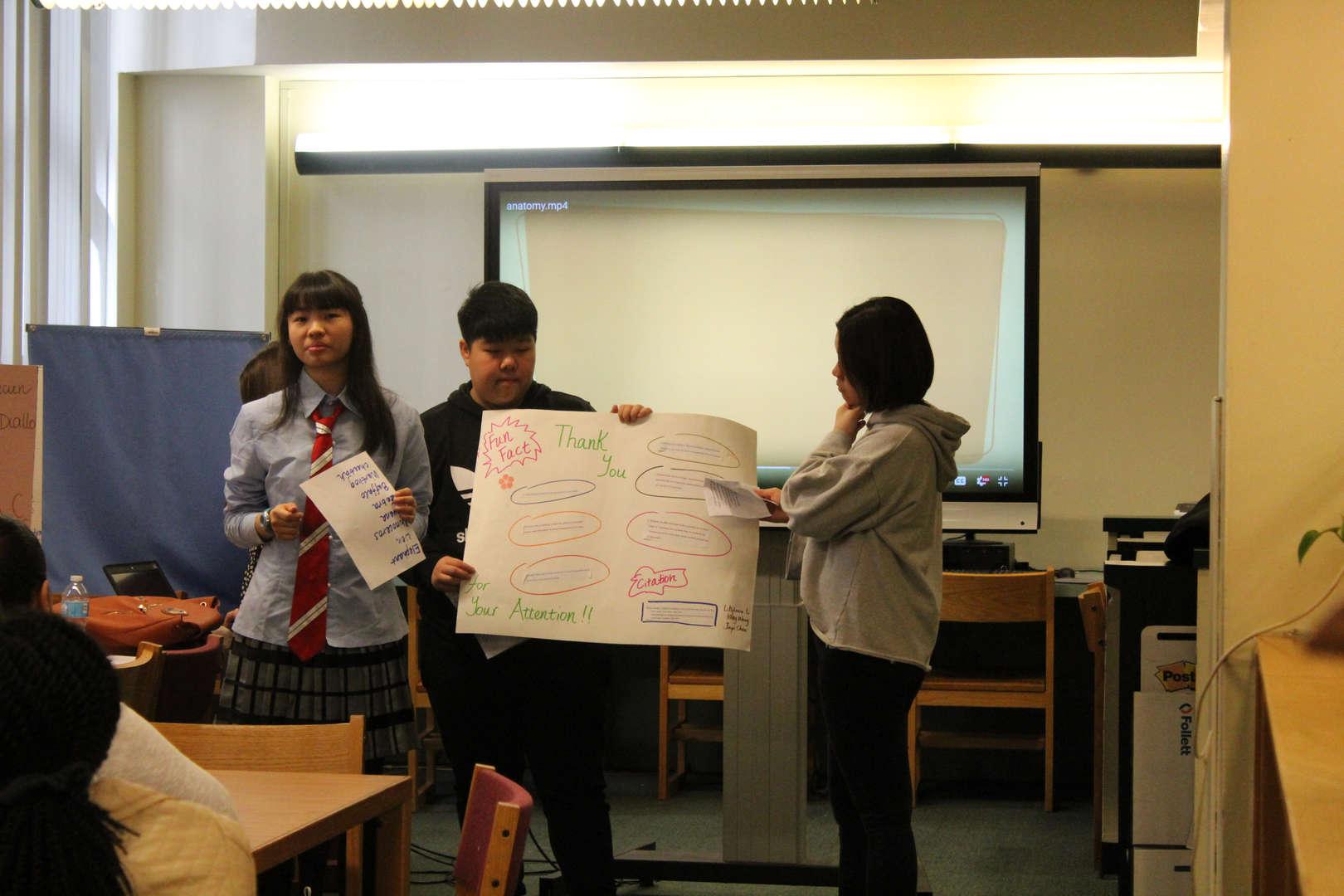 Student Presentation