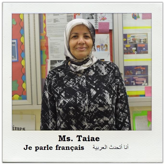Ms. Taiae Club Advisor