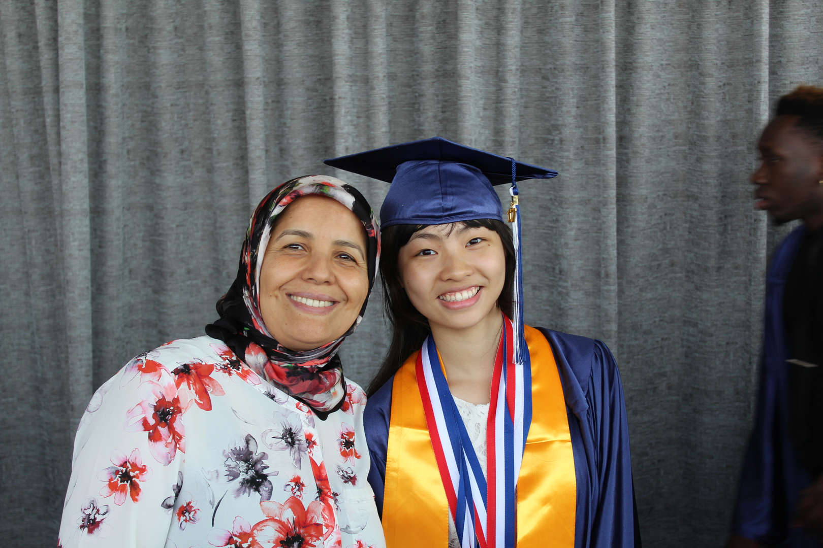 Ms. Taiae and Graduate
