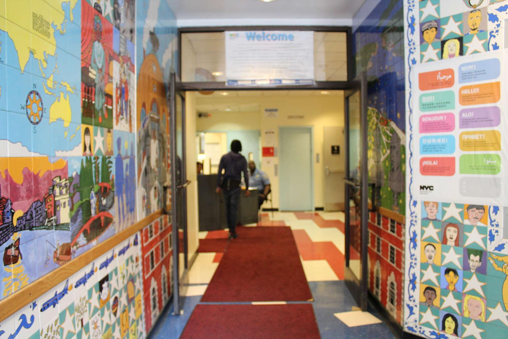 LHS Entrance Mural 2