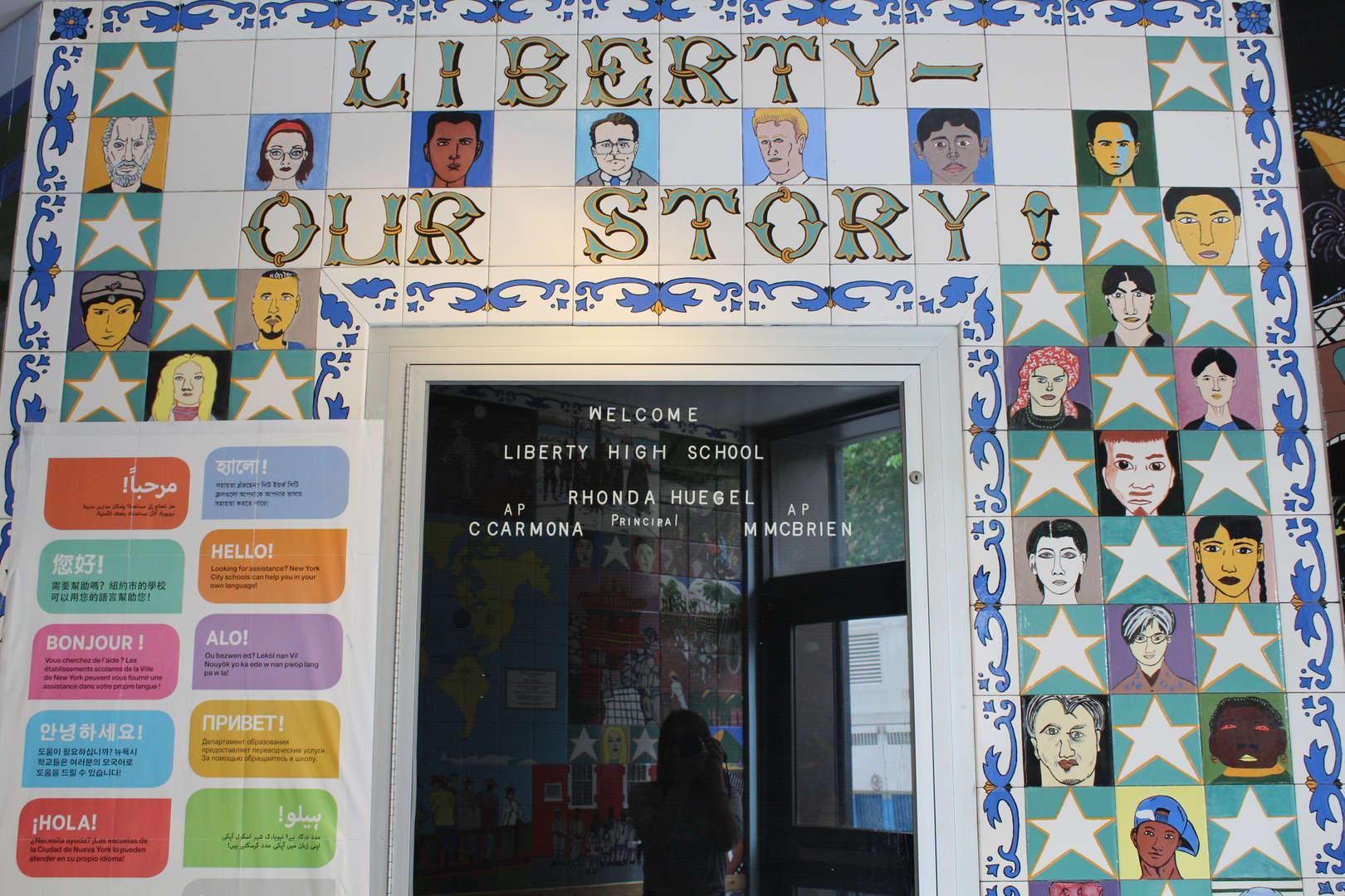 LHS Entrance Mural