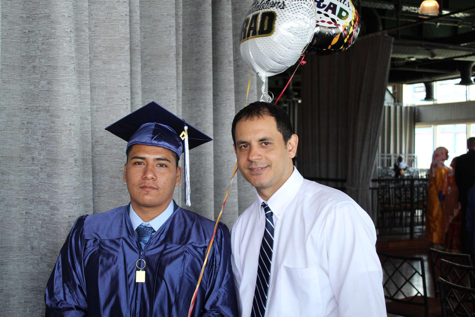 Mr. Olivo and Graduate