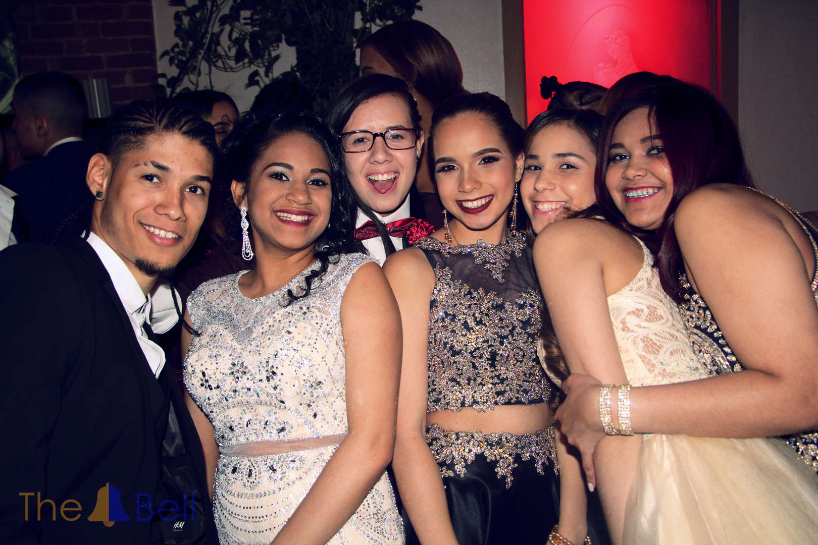 Friends at Prom