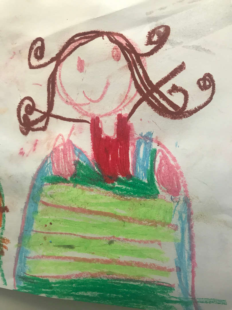 Portrait of me by  a student