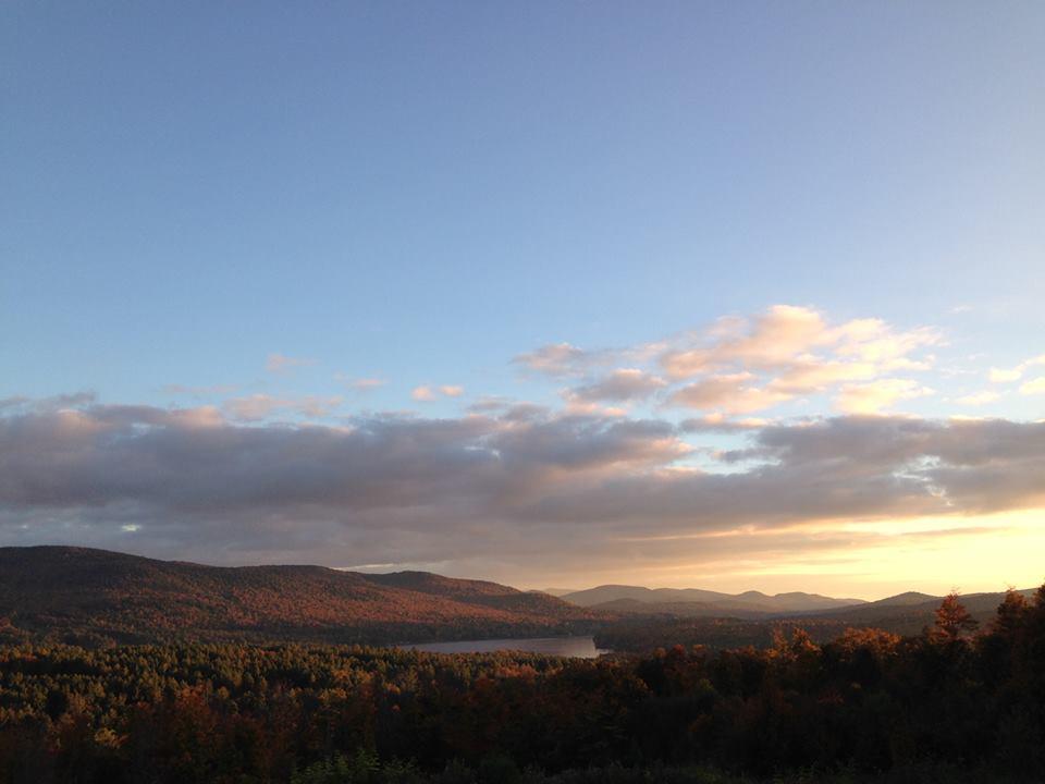 Long Lake view from Short Ridge