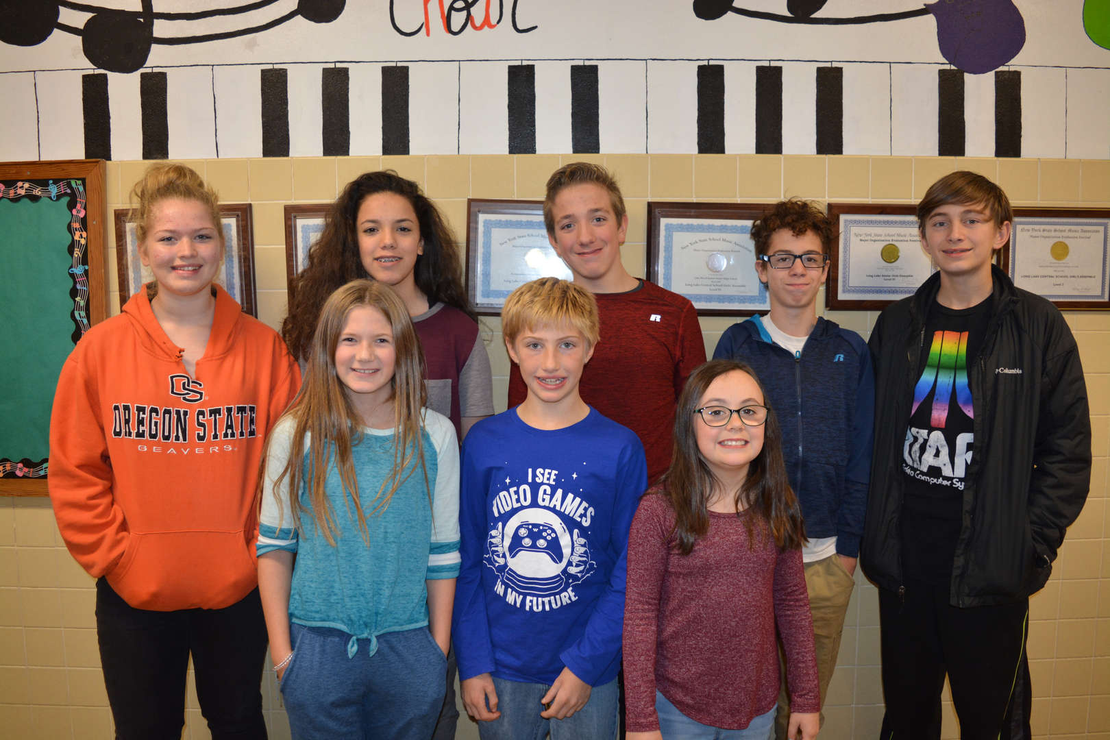 Long Lake CASMA Students