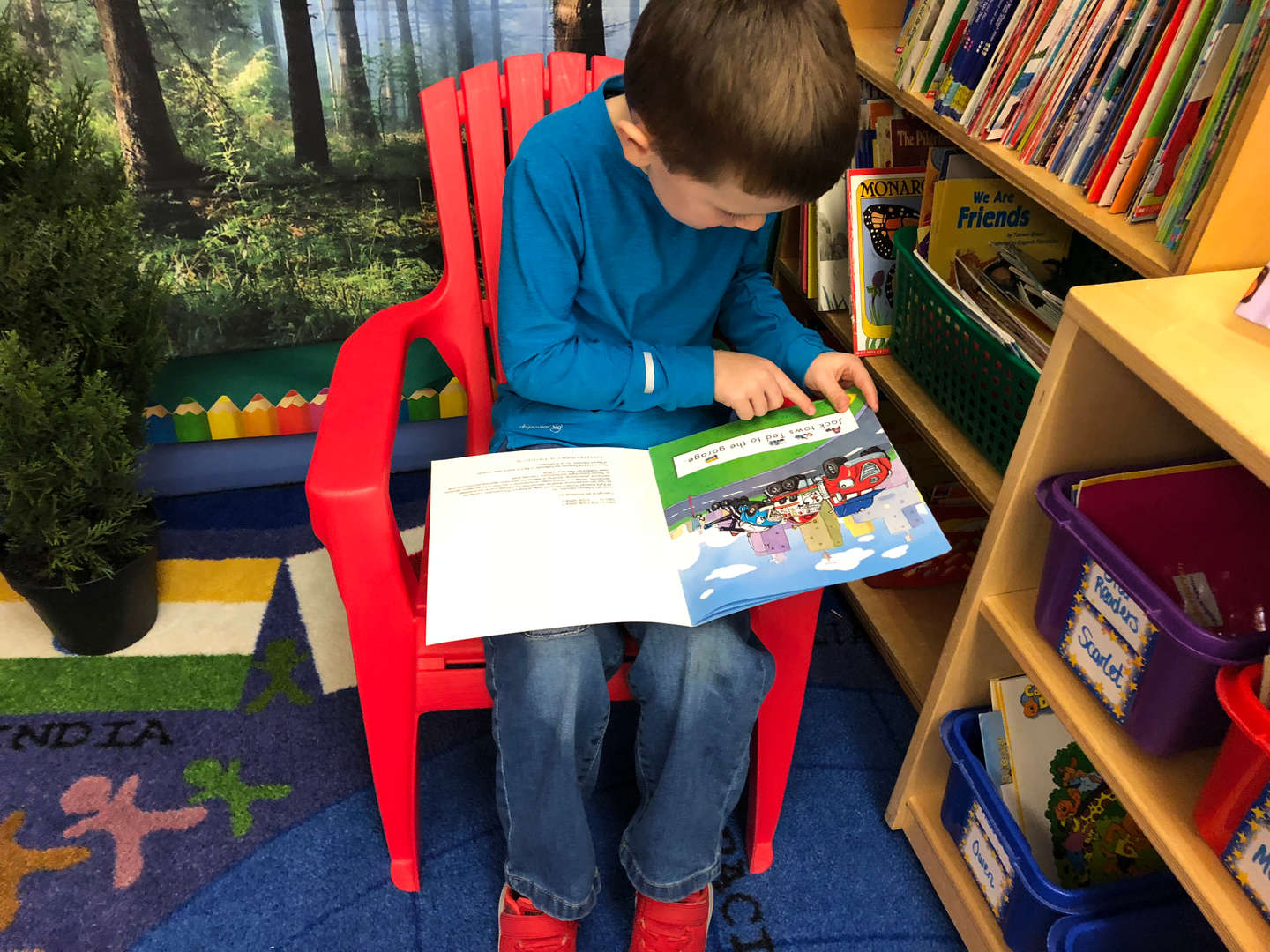 K Reading and Writing