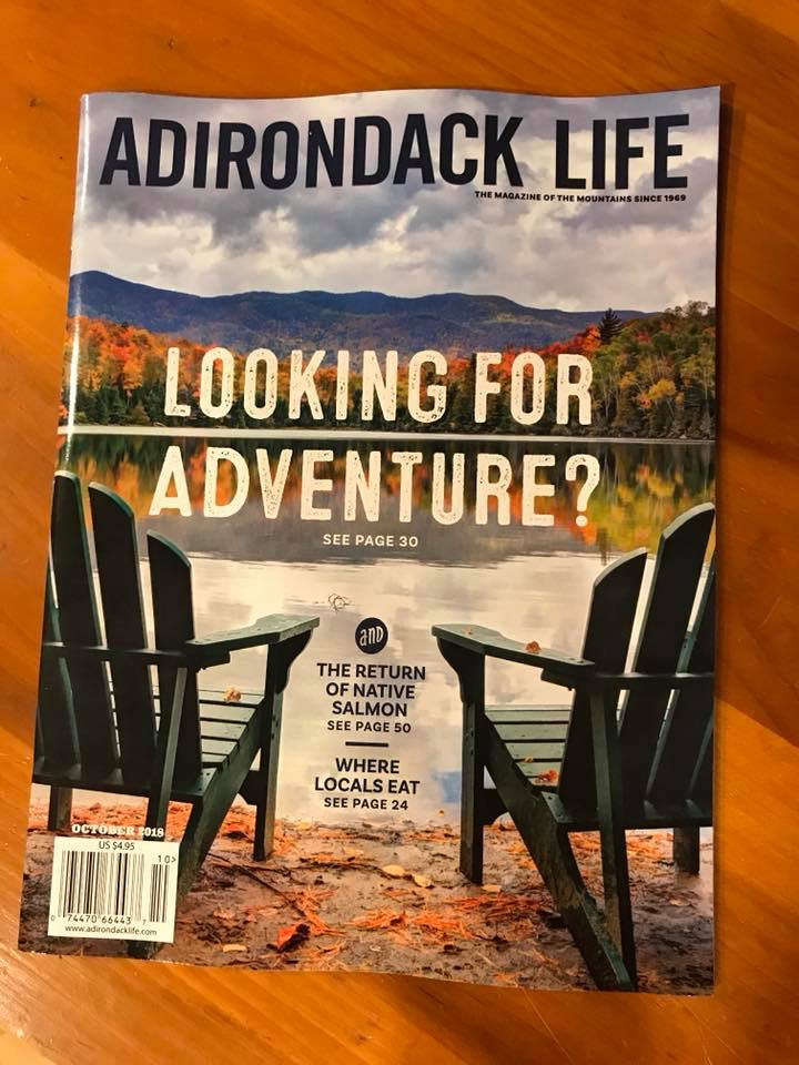 Cover of Adirondack Life Magazine