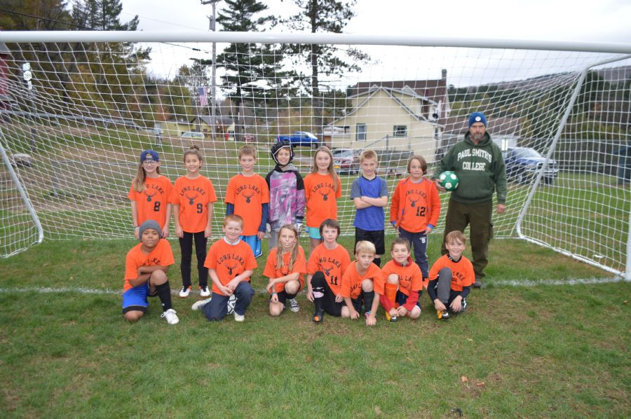 Elementary Soccer team picture