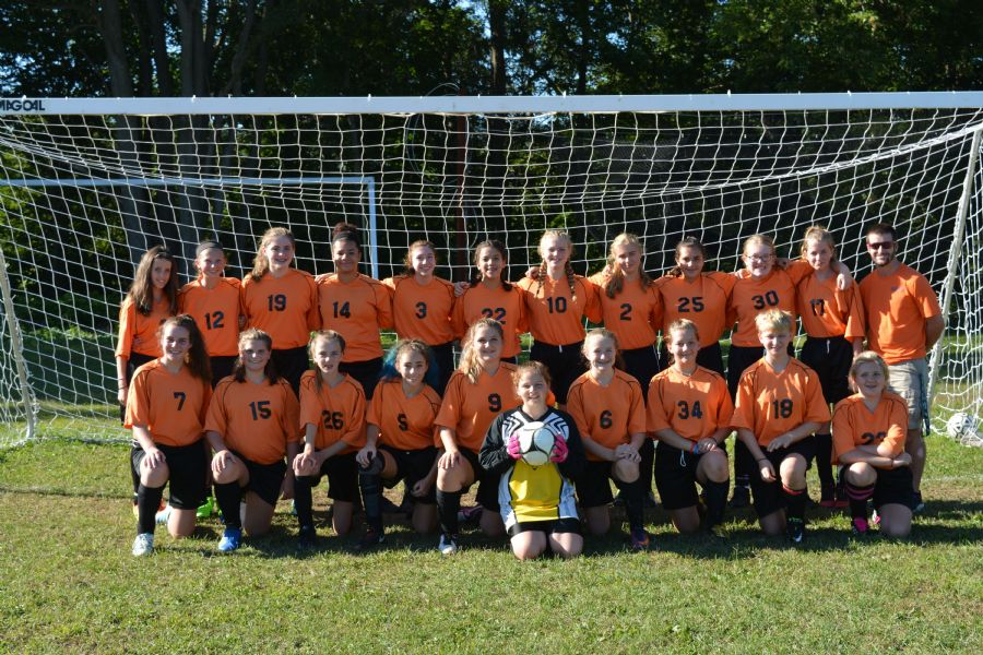 Girl's Modified Soccer team picture