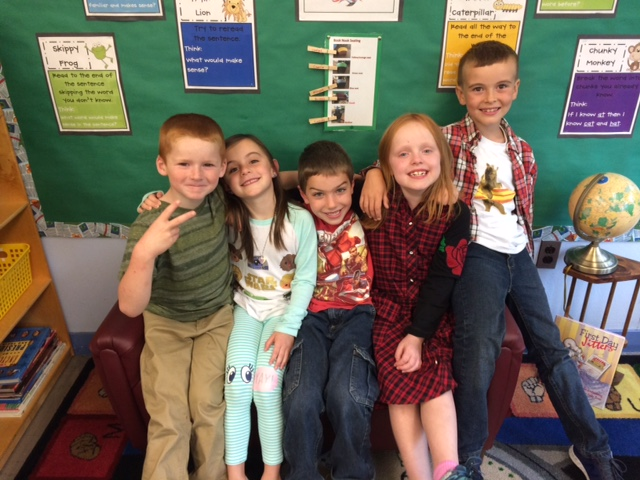 Picture of 2nd grade students