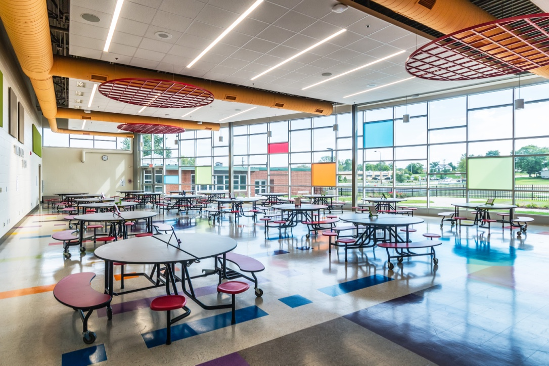 Steger Intermediate Cafeteria