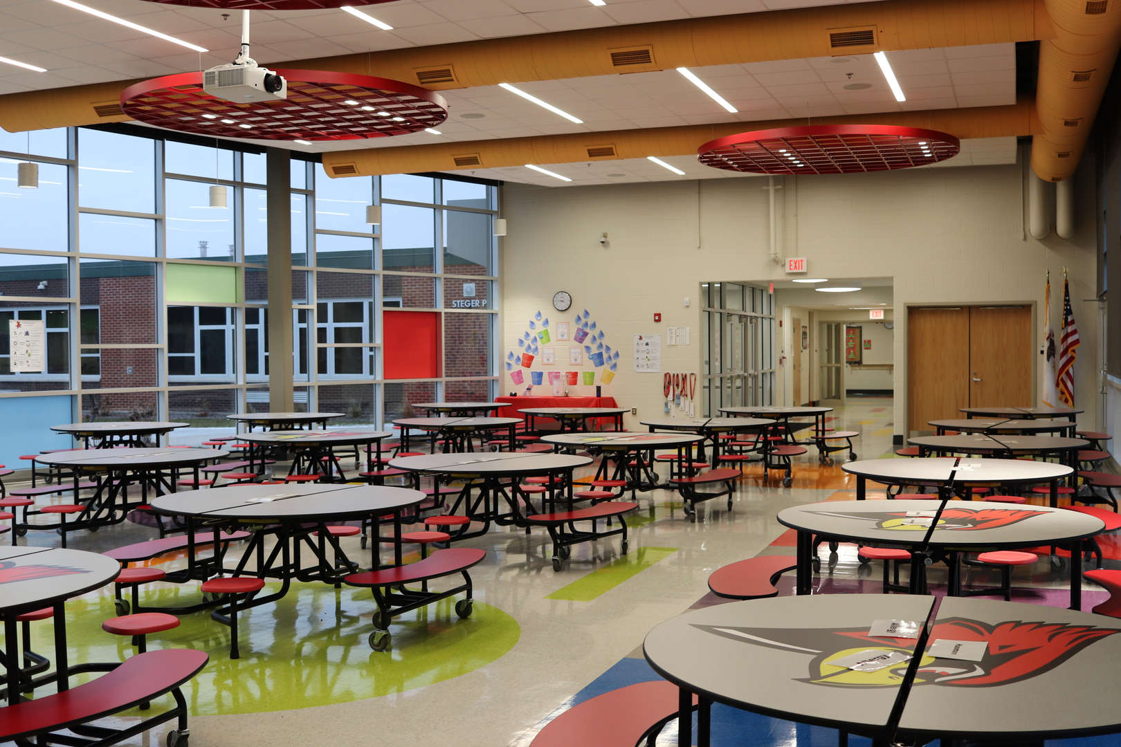 Steger Primary Cafeteria