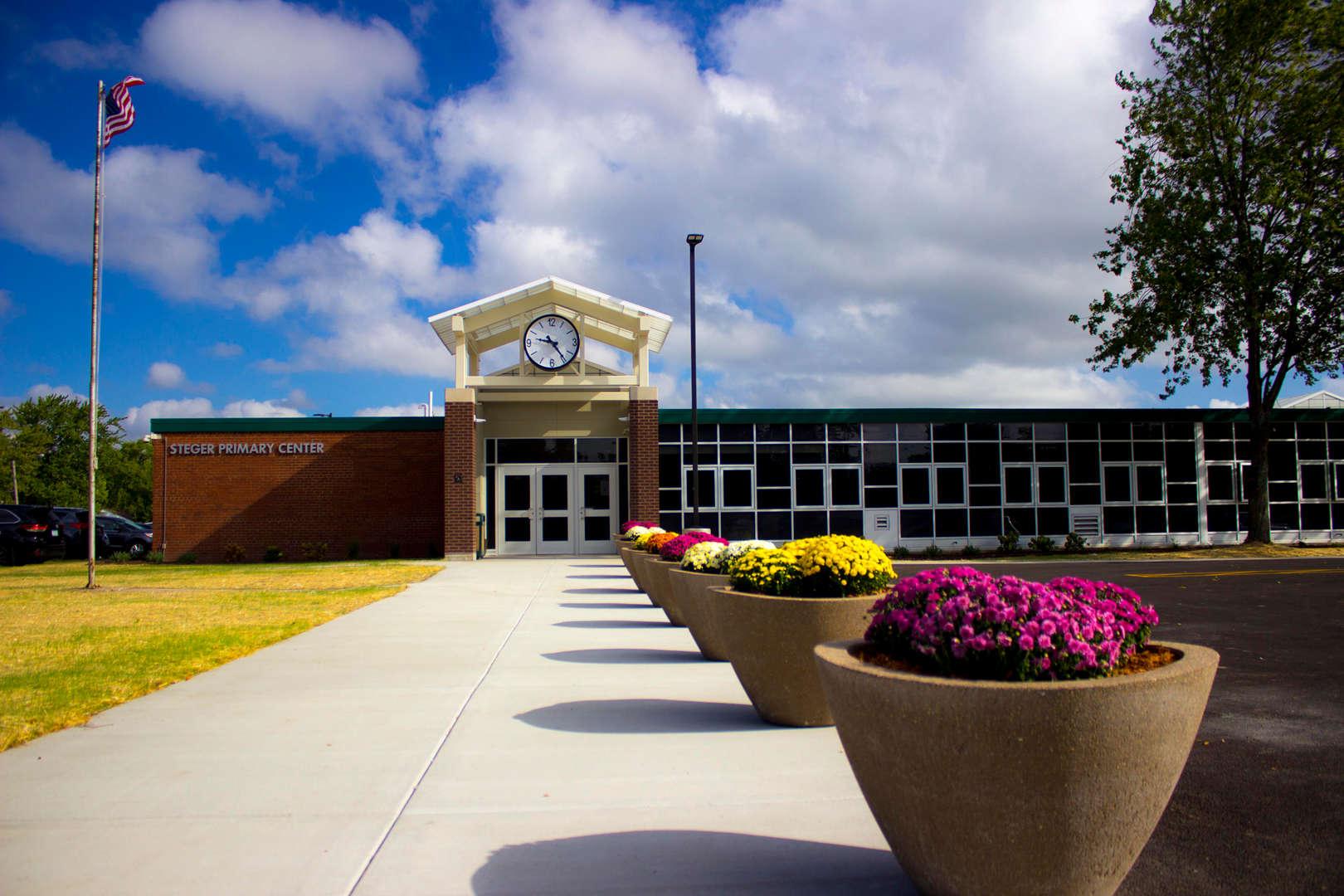 Steger Primary Entrance
