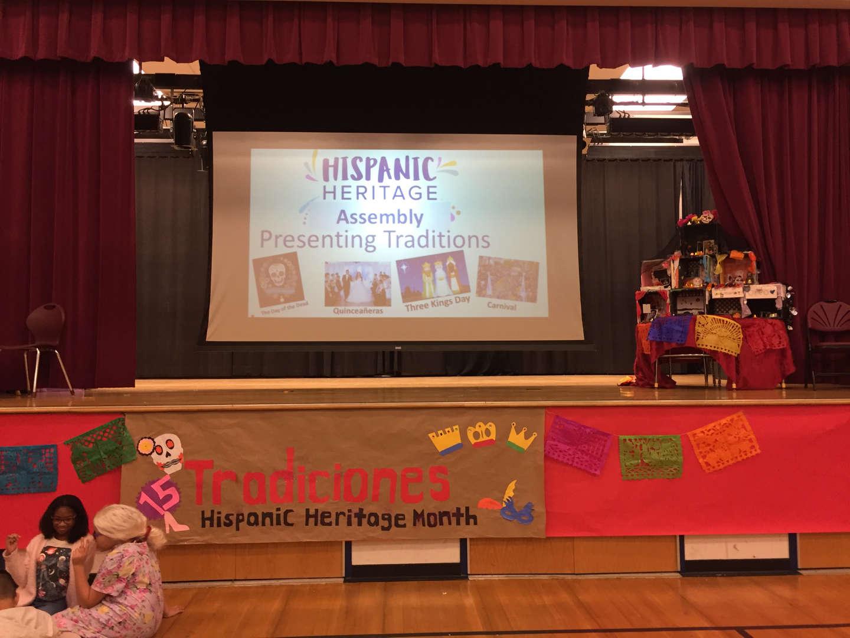 Hispanic Heritage Month Traditions theme banner