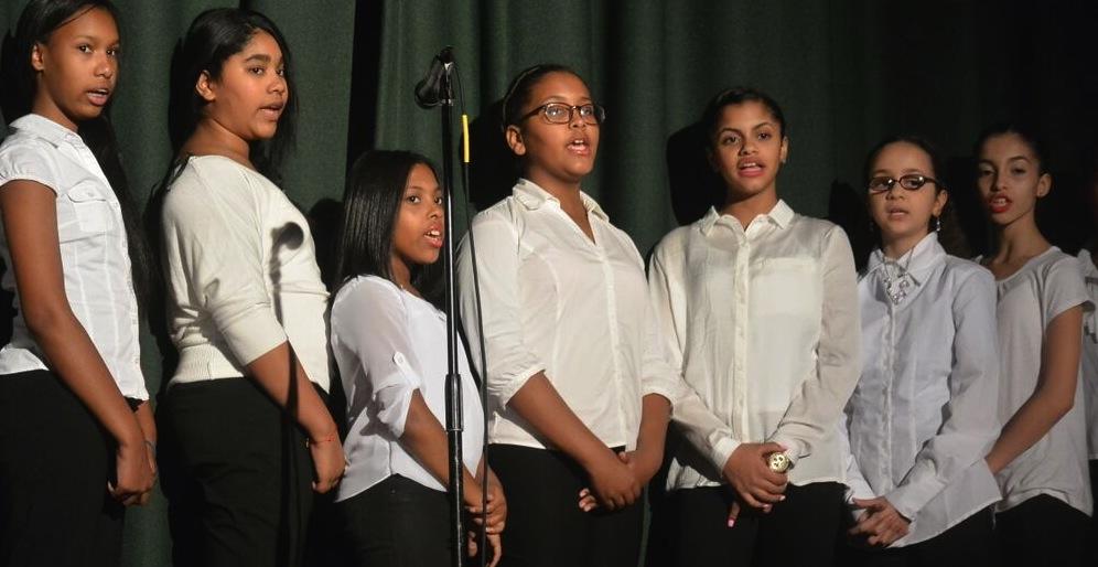 NSLA singers performing