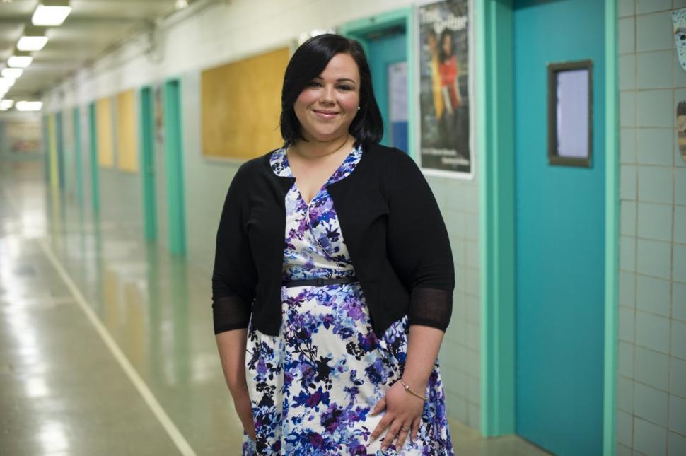 NSLA Teacher, Standing in thte hallway