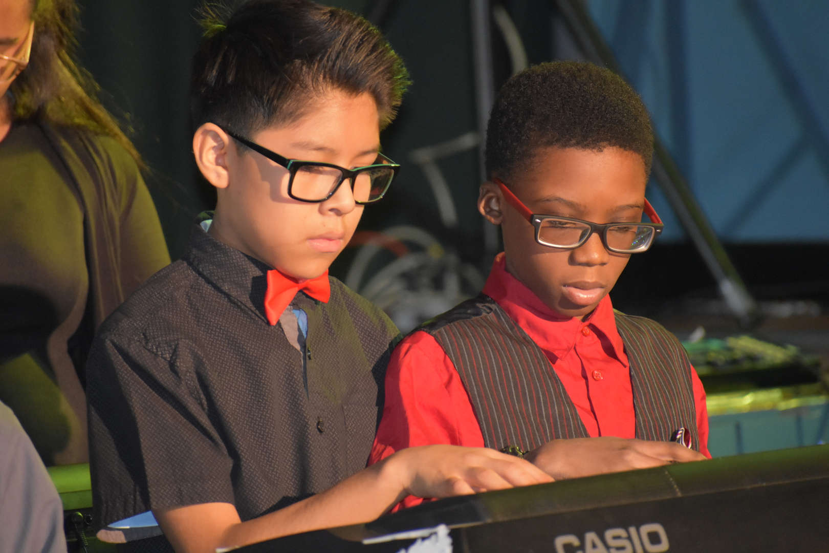 NSLA keyboard students performing