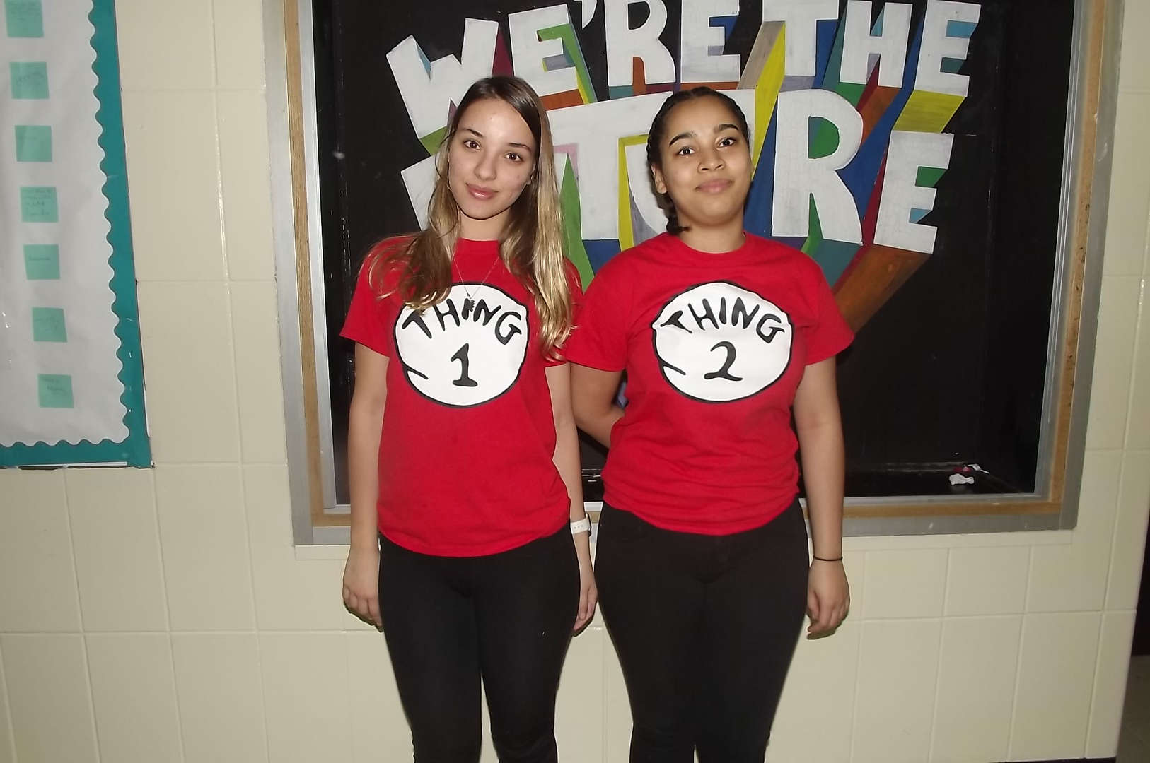 thing 1 thing 2 tshirts for twin day 2017-2018 Spirit Week #2
