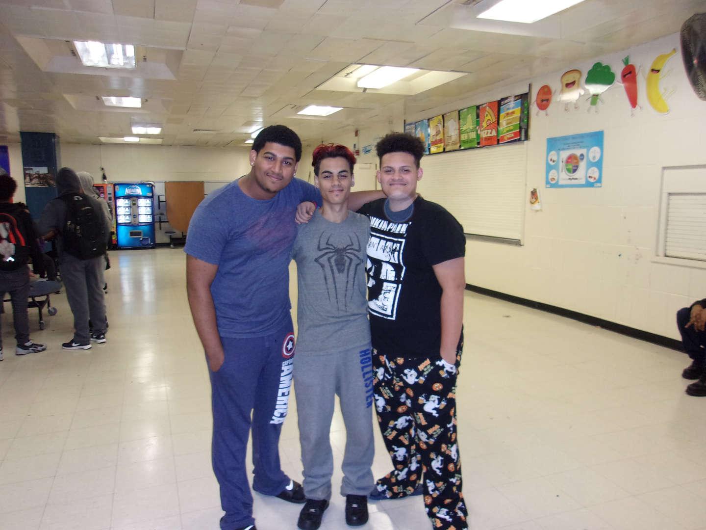 boys read pajama day 2017