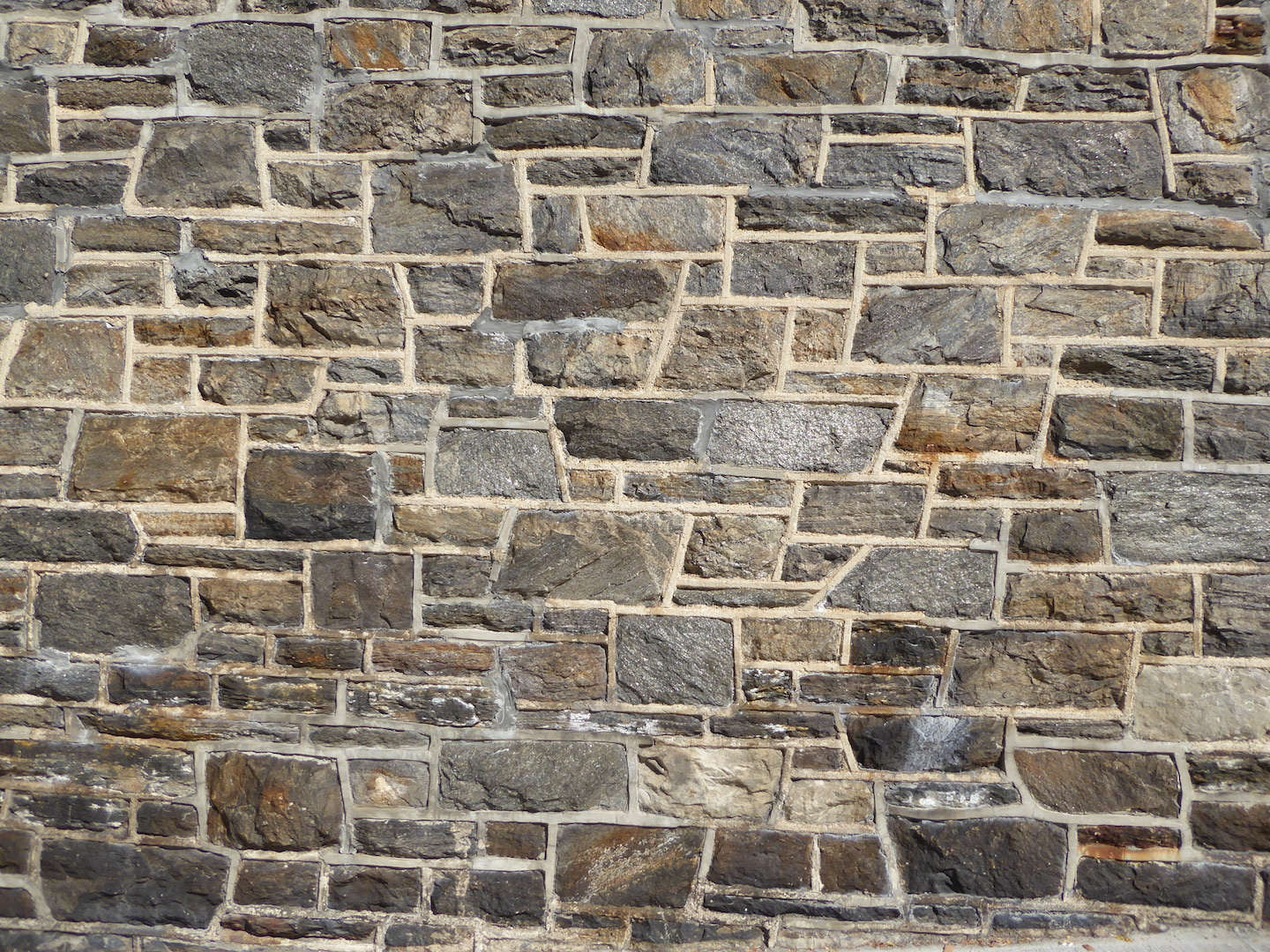 A closeup of an exterior wall of the school building.