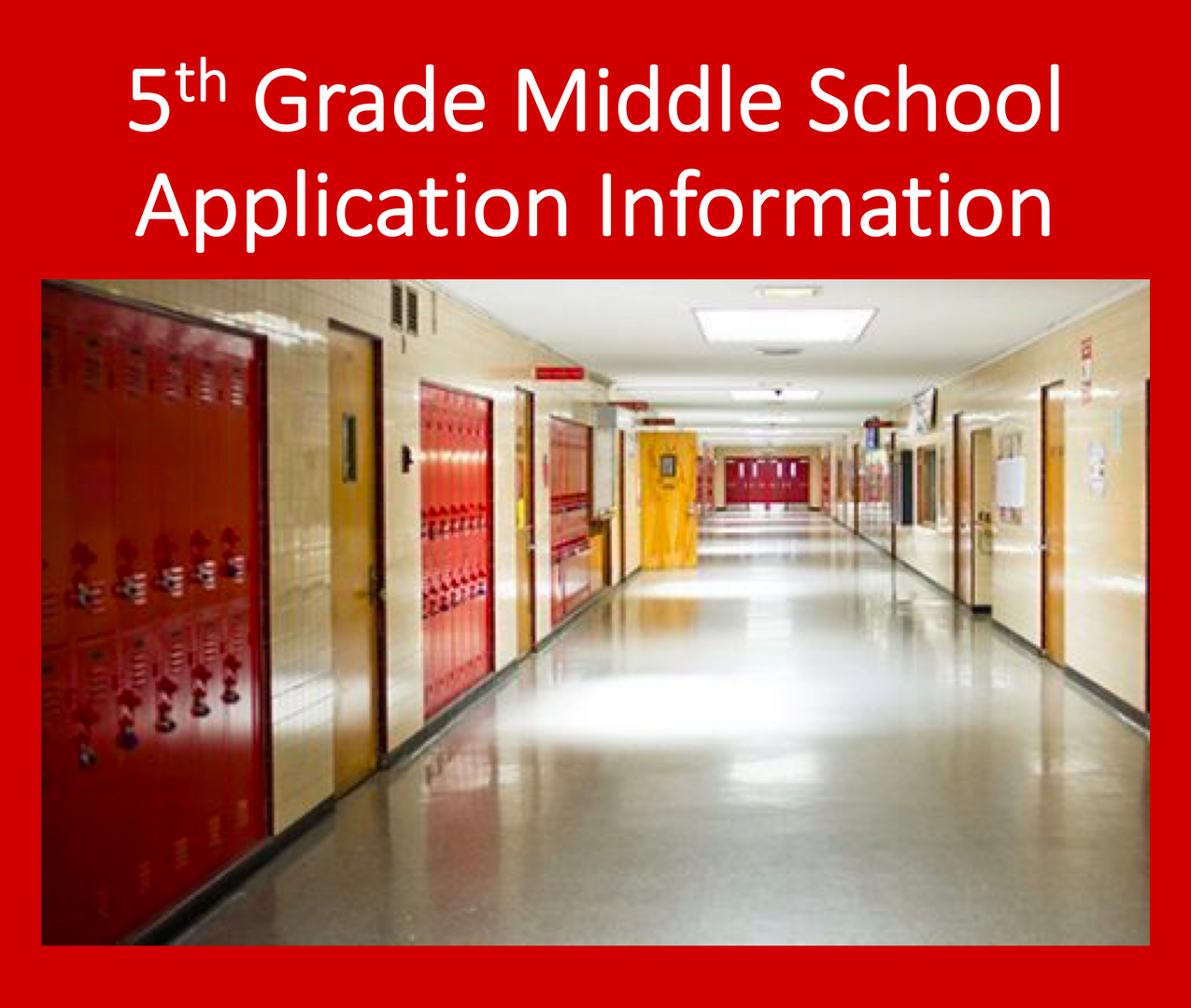 Link here to our middle school application information page on a different tab.