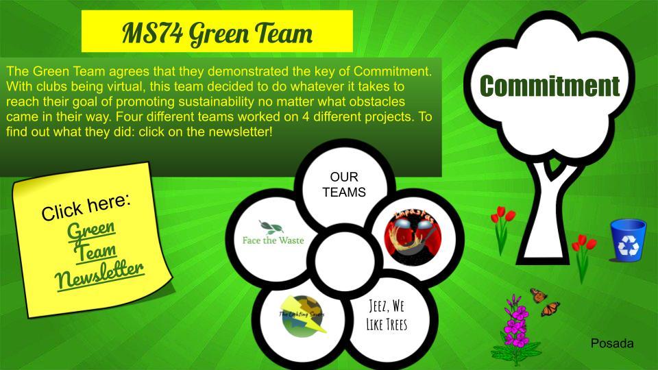 MS 74 Green Team