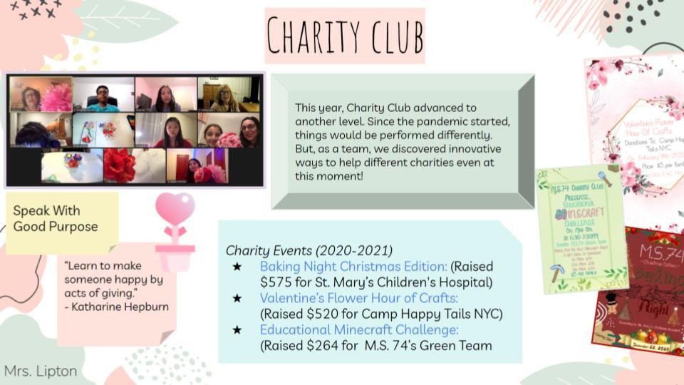Charity Club