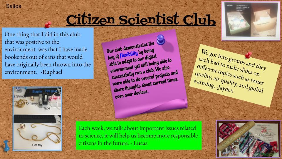Citizen Scientist Club