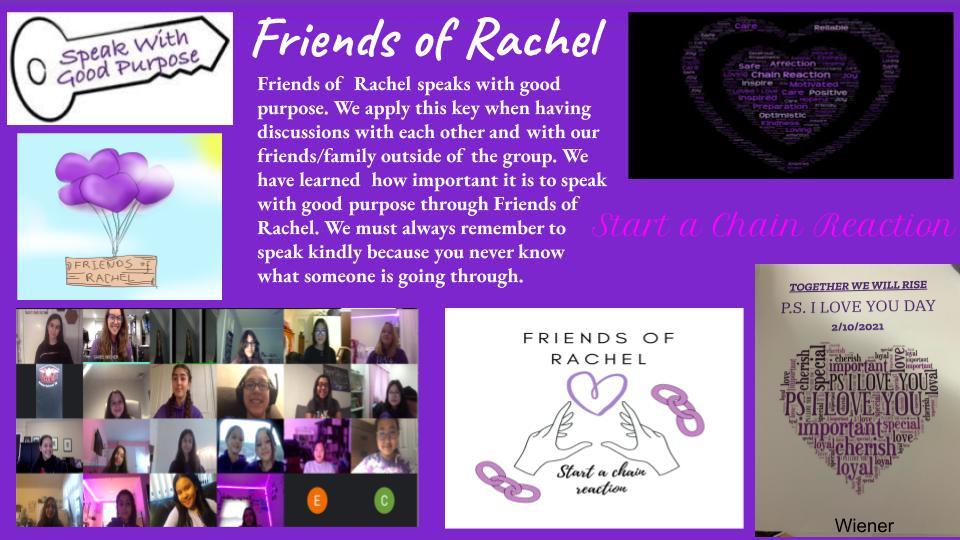Friends of Rachel