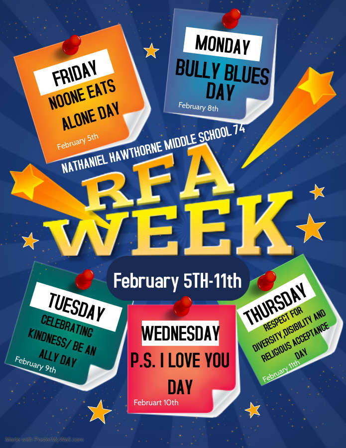 RFA Week 2021 Flyer