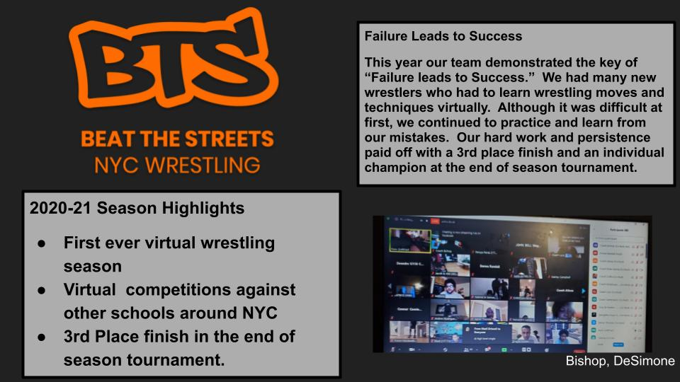 Beat the Streets NYC Wrestling