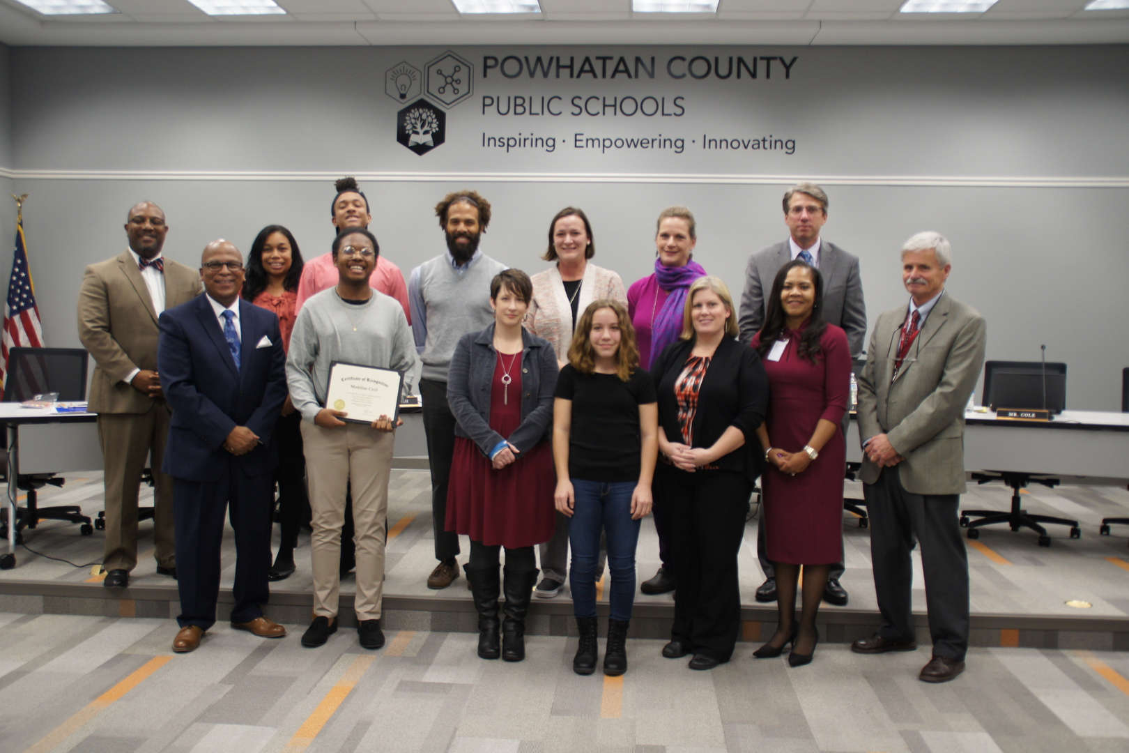 Powhatan Community Makers Project Recognition