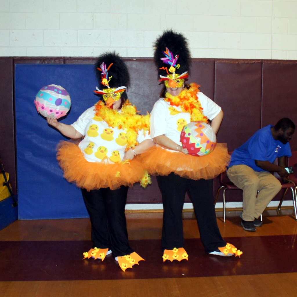 Performers at the Pocahontas Elementary School Read Seuss-A-Palooza