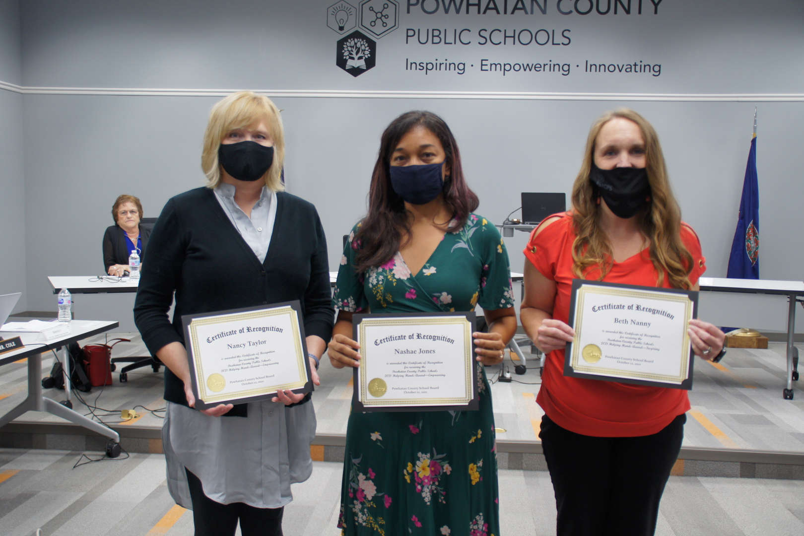 21-22 Helping Hand Award Recipients