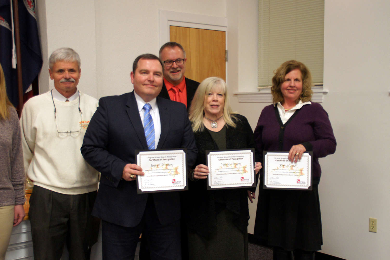 School Board Members recognized for School Board Appreciation Month