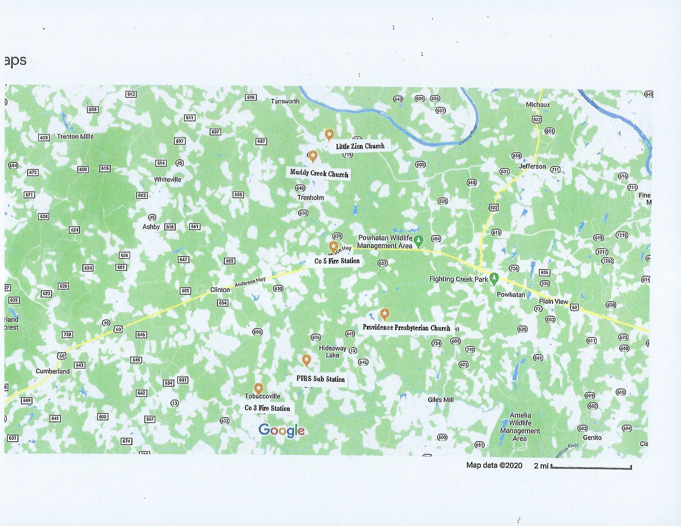 map of wireless bus hotspots available