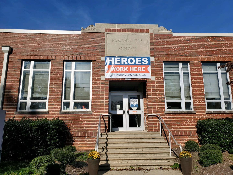 Pocahontas Landmark Center Heroes