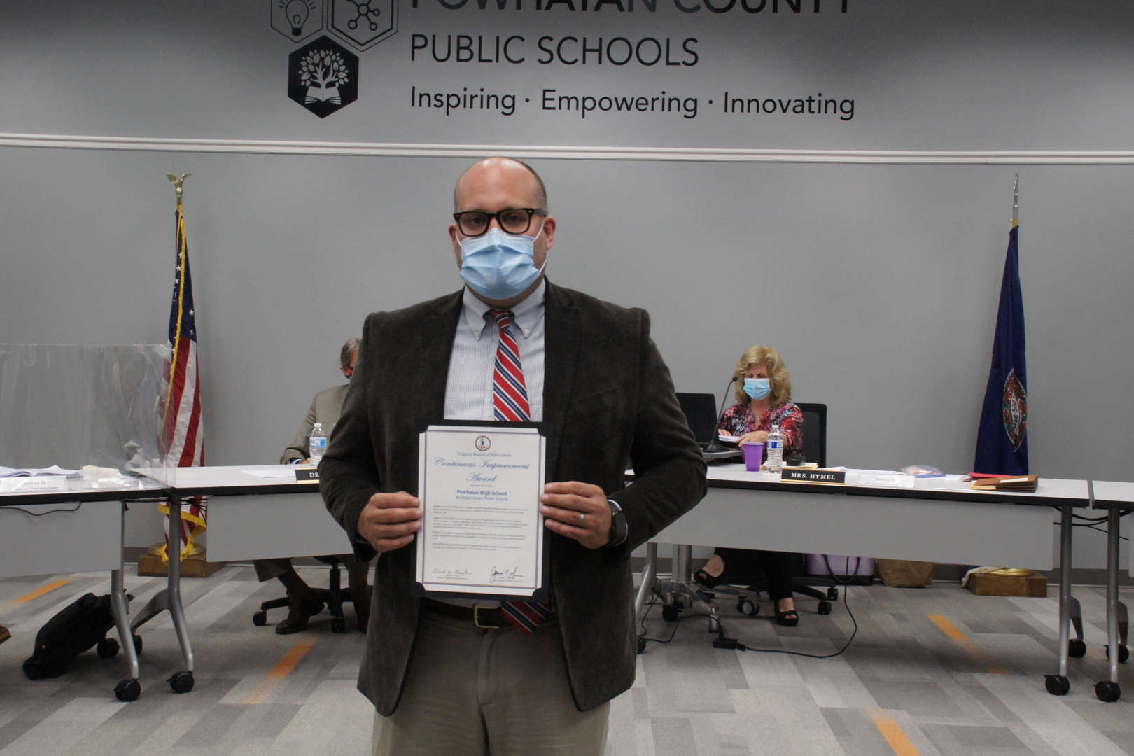 Dr. Massa receives PHS Continuous Improvement Award