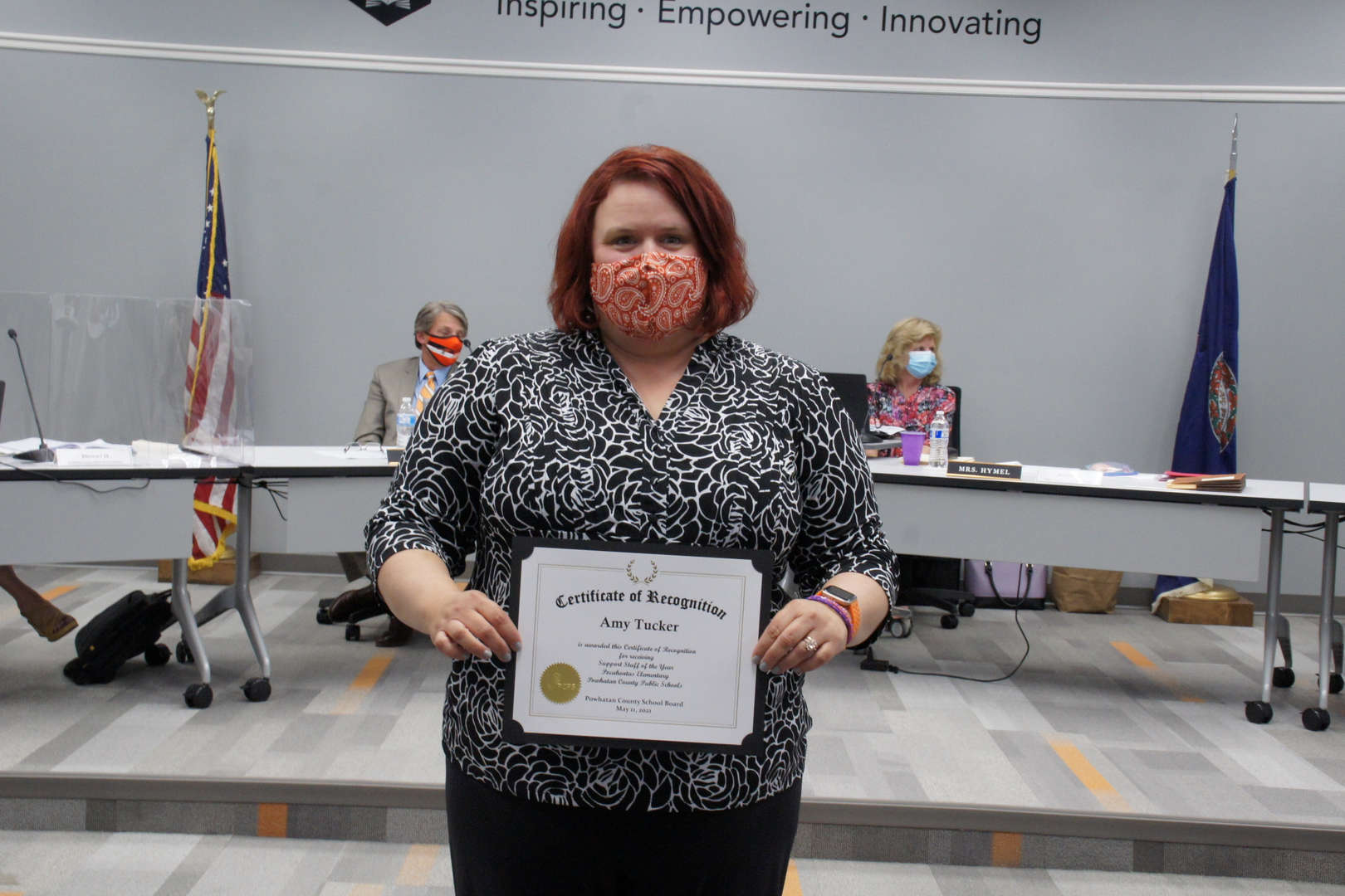 Amy Tucker, Support Staff of the Year
