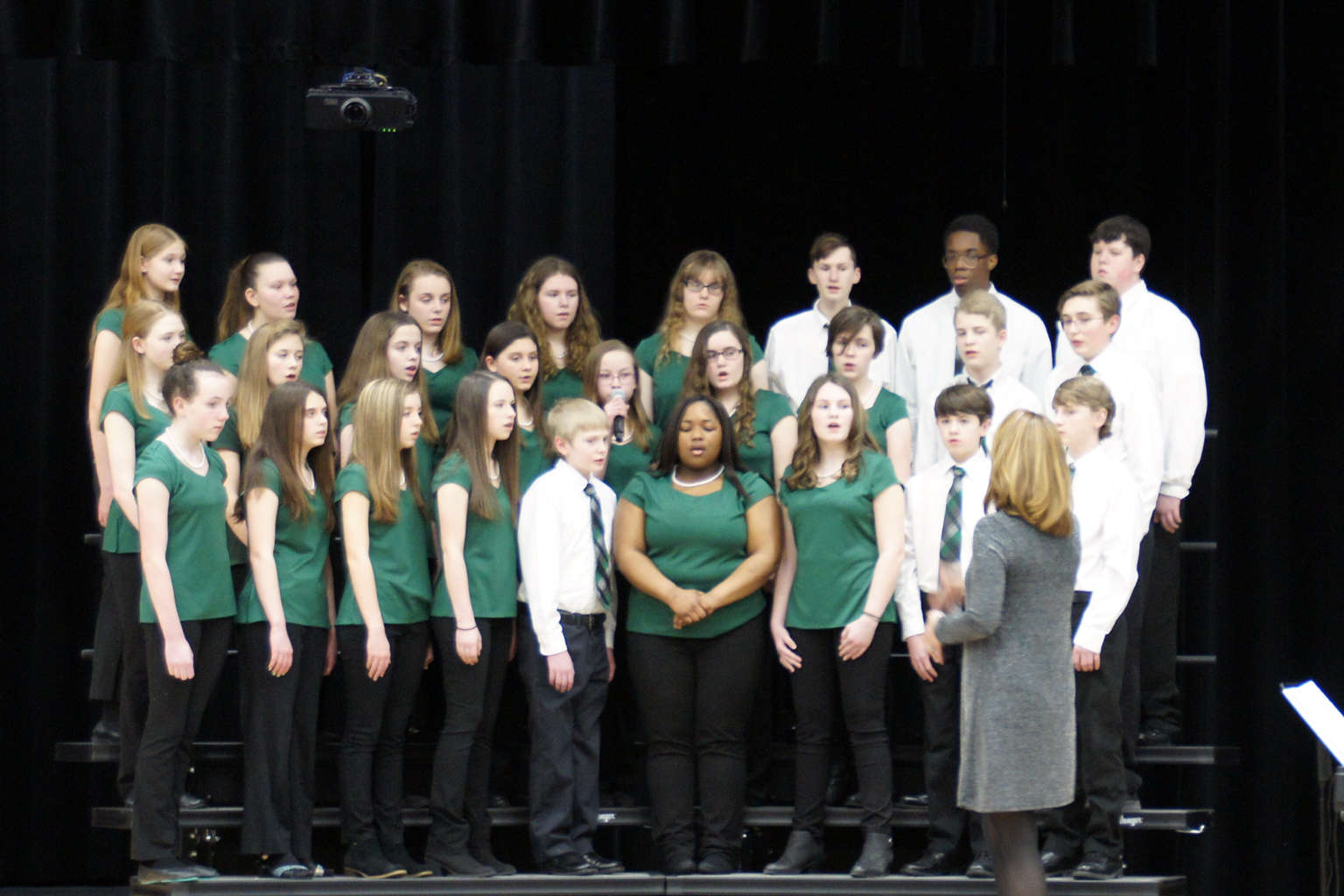PMS Choral Performance at the Southside Regional Forum