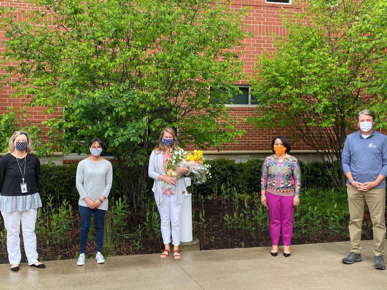 Dr. Powers, Ms. Fleming, Lauren Ayers, Mrs. Atkins-Nelson, Dr. Jones