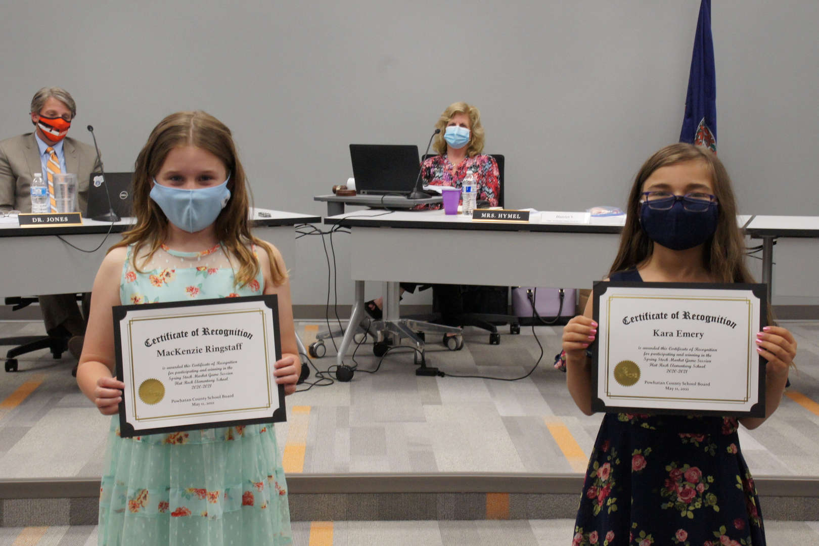 MacKenzie Ringstaff & Kara Emery receive awards