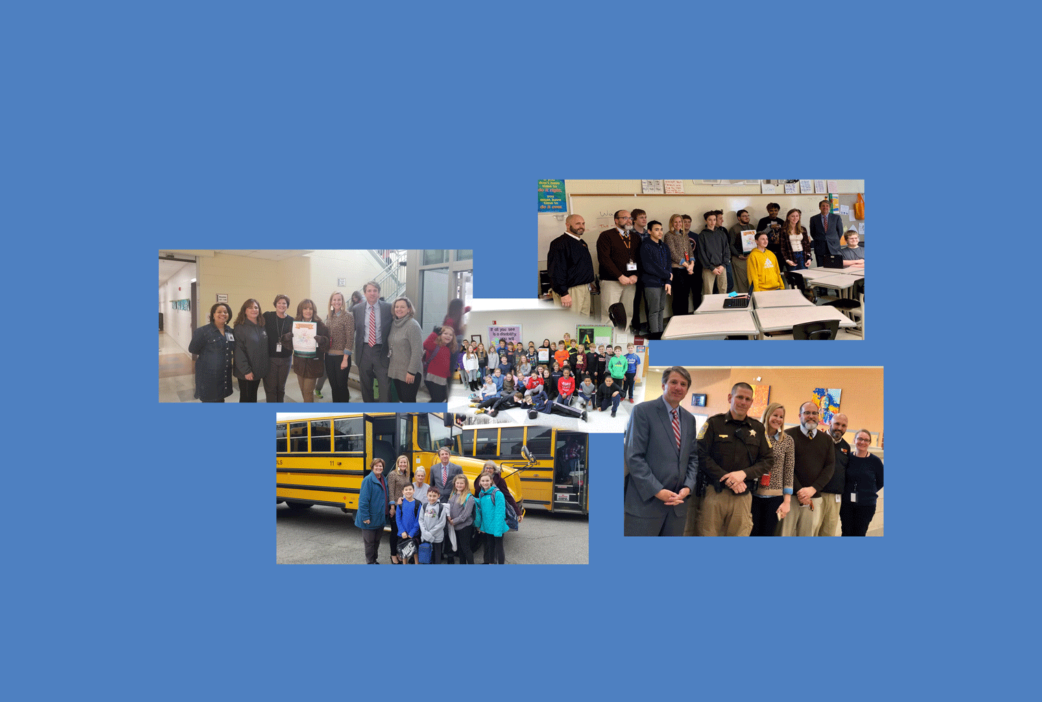 February, 2020 Helping Hands Award Winners