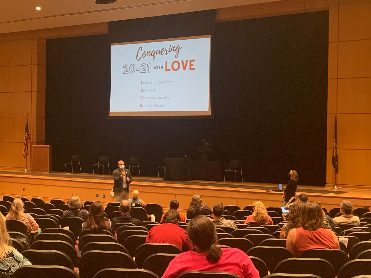 Powhatan High teachers return to work