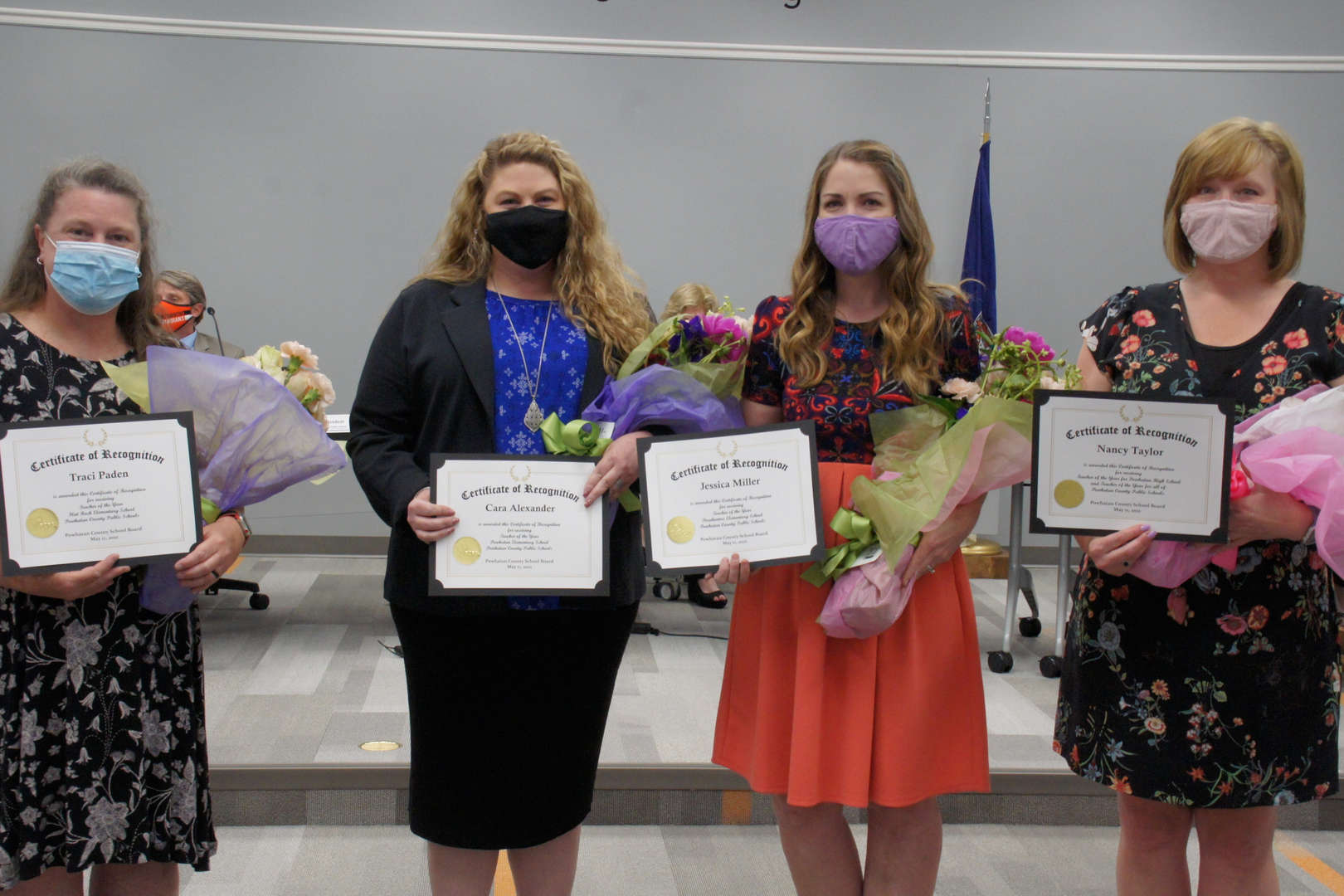 Teachers of the Year recognition