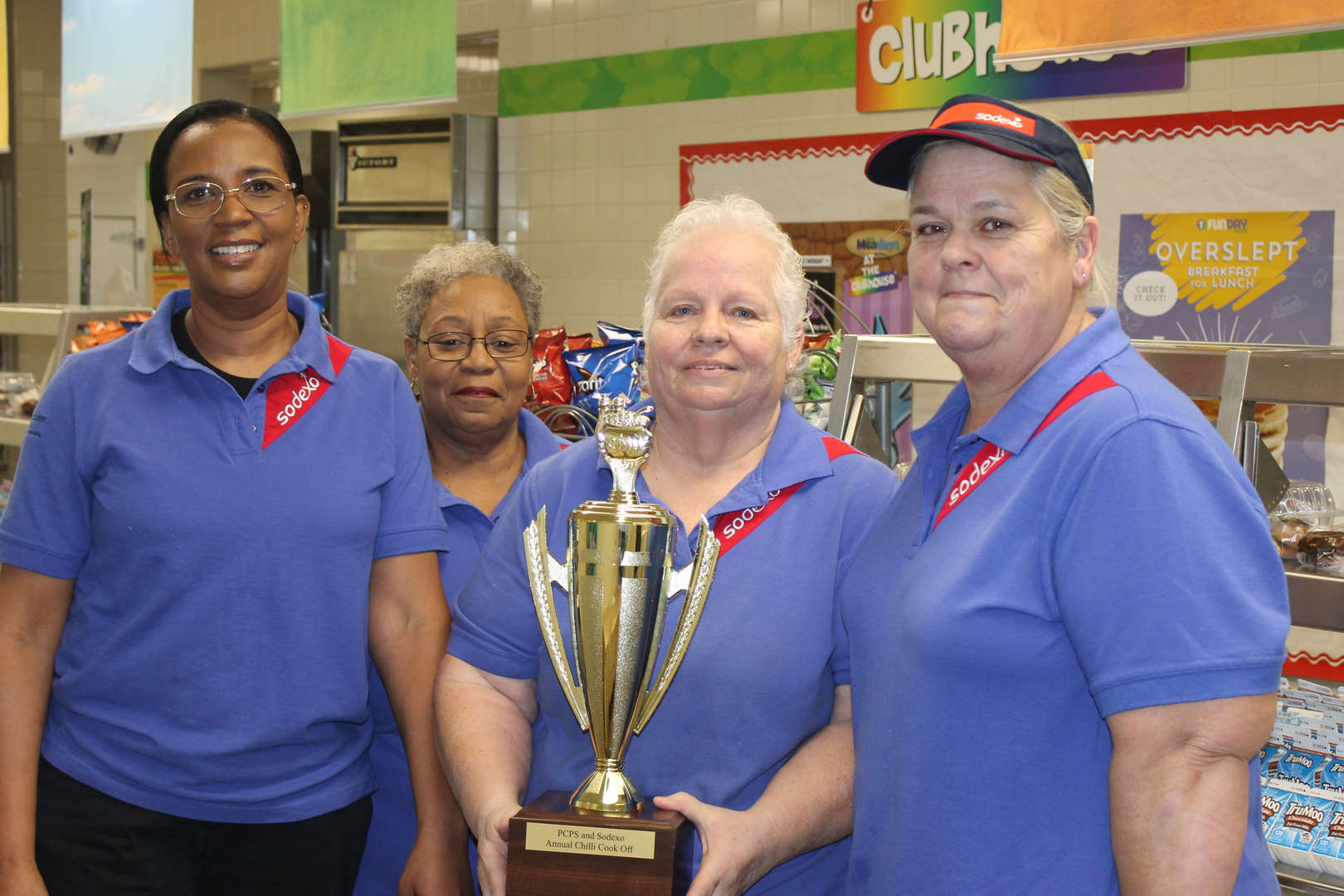 Pocahontas elementary cafeteria staff win chili cook-off