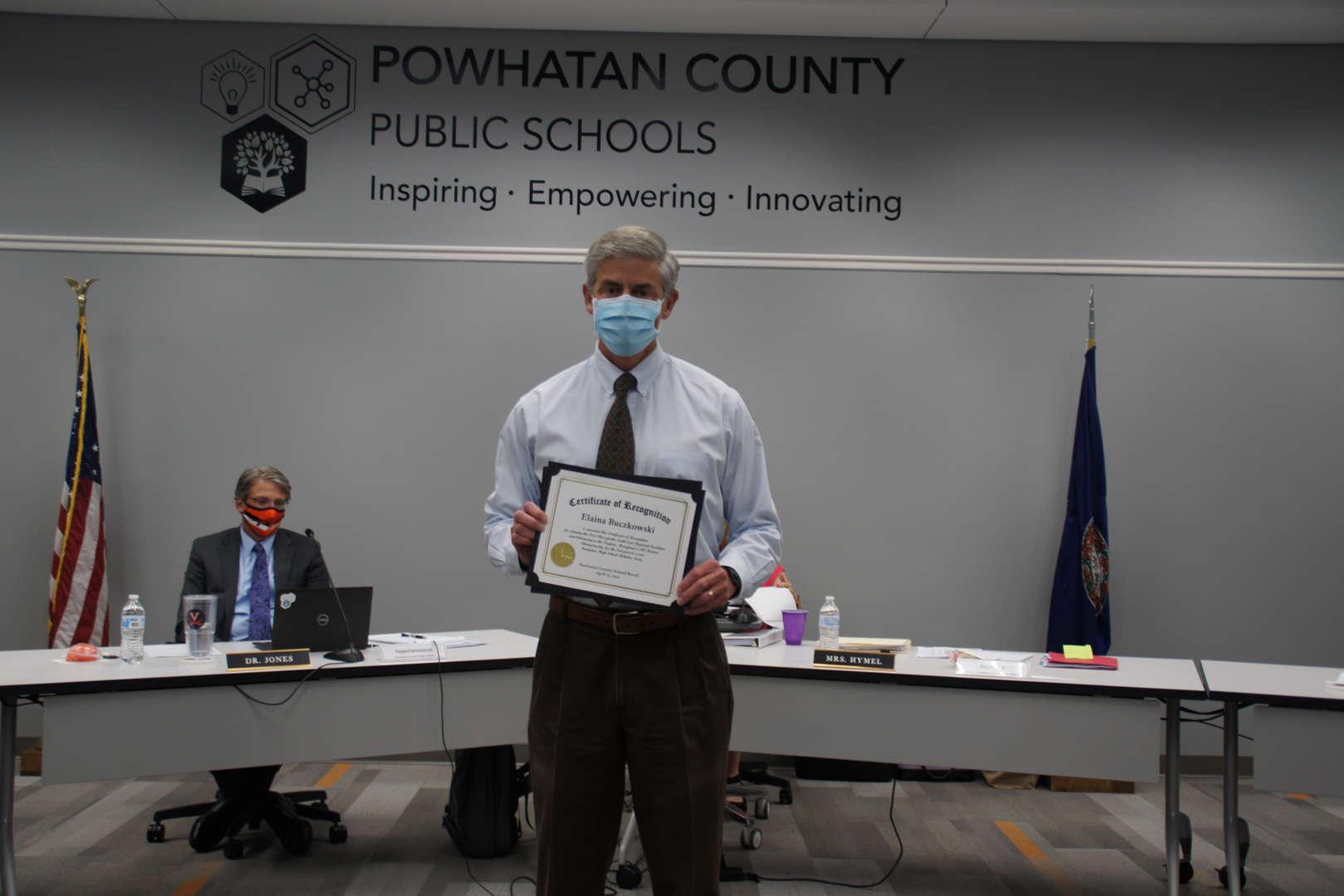 Bob Benway receives Robotics Awards for Students