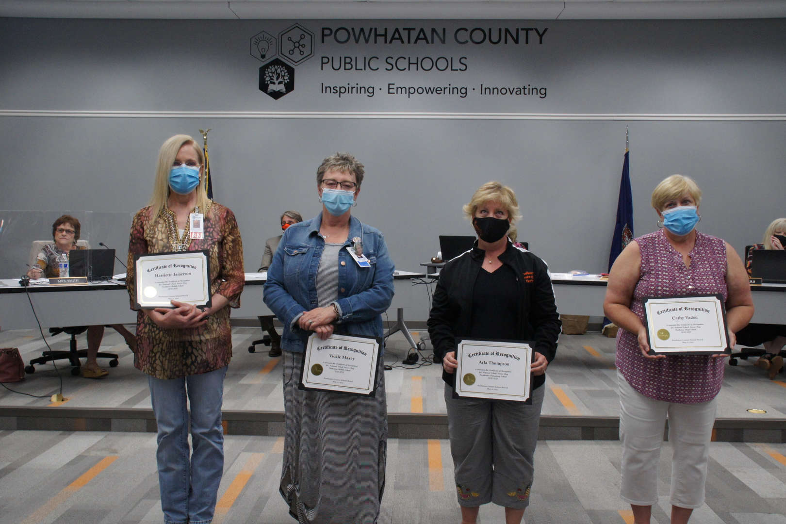 PCPS Nurses receive award recognition