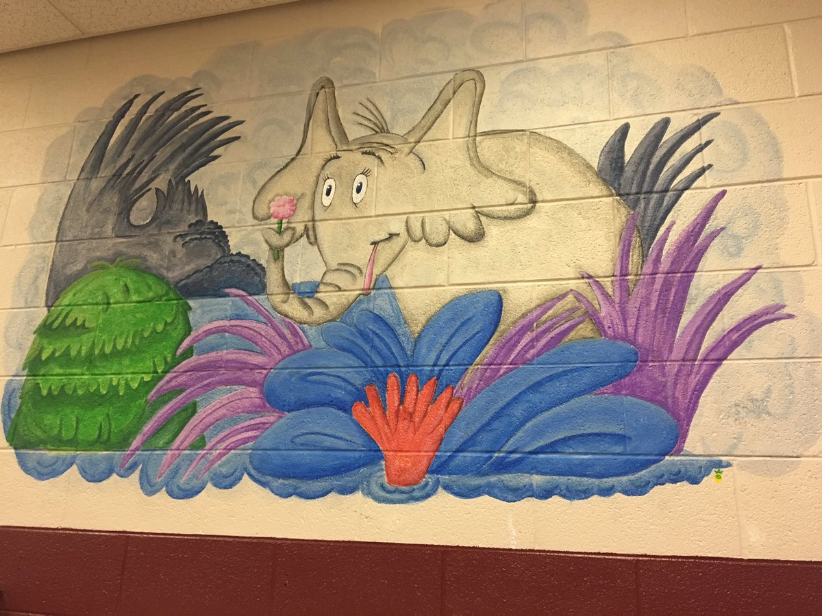 Horton Hears a Who mural